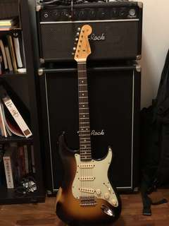 Fender Custom Shop John Cruz Master Design 63 Stratocaster electric guitar