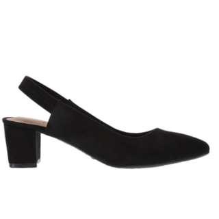 Payless Dexflex Black Mary Jane Block Heels