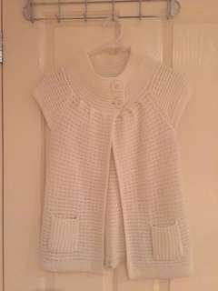 Sleeveless Outer Knitted Wear