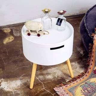 北歐簡約創意小圓桌,沙發邊几、床邊几、小茶几
