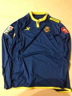 Xtep Villarreal long sleeves jersey BNWT
