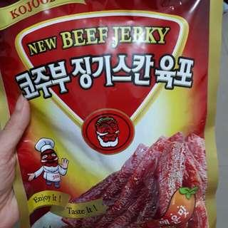 韓國牛肉條