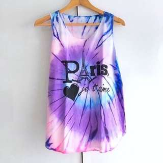 $10 SALE: Ombre Gradient Dip Tye Tie Dye Tank Top (do you see this marked sold? no. then OBVIOUSLY ITS AVAILABLE)