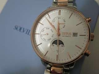 鐵達時Titus 女裝機械錶 2018最新款