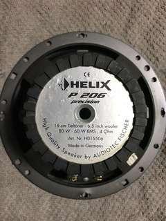 Helix component speaker