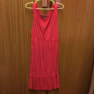 Pink Zara Trafaluc Dress