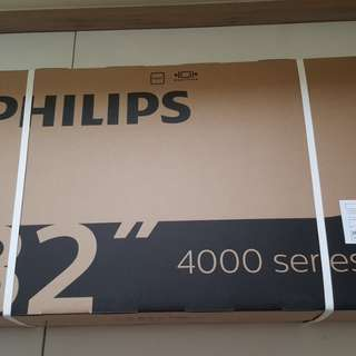 "Brand new Philips 32"" TV"