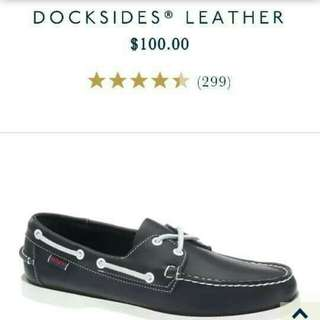 Sebago Docksides Blue Nite original not sperry
