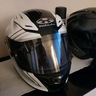 Kabuto Aeroblade 3 Linea White helmet