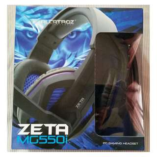 Alcatroz Zeta MG550i Stereo Gaming Headset