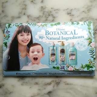 Moist Diane Botanical Refresh & Moist Sample Set