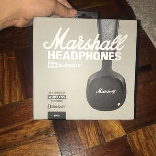 MARSHALL HEAD PHONES SLIGHTLY USED 9/10 6 months used only