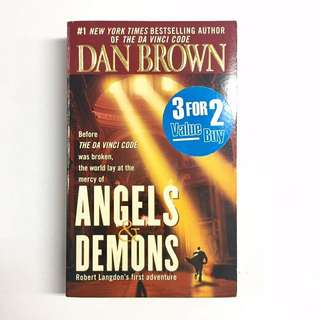 Angel & Demons by Dan Brown