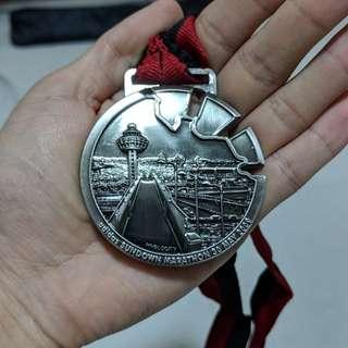 Sundown Marathon 42km finisher medal