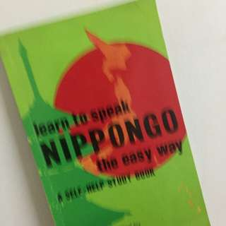 Learn to speak NIPPONGO the easy way