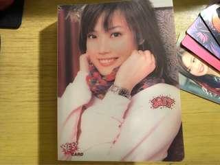 容祖兒yes card 14張 連卡簿