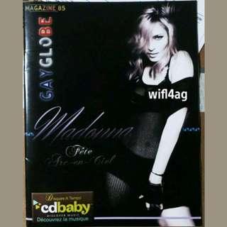 Madonna GayGlobe Rare Magazine