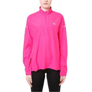BNWT Adidas Climaproof Running Jacket Windbreaker Water Resistant Pink XS and S available