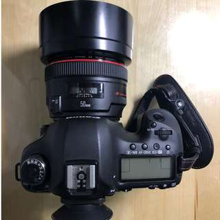 Priced to Sell: Canon 5D Mark III and Canon 50mm F1.2L and Canon 430EX II Flash (Canon Full-frame system)