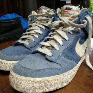 Nike Dunk High Suede Blue sz 43