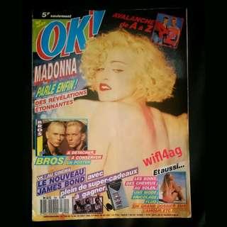 Madonna Ok Magazine Elle Harper's Bazzar Express Yourself