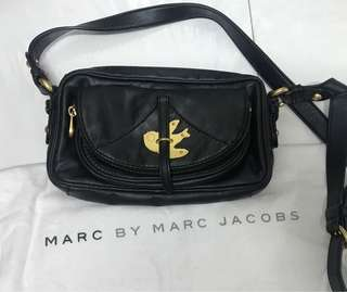 Marc By Marc Jacobs Petal to the Metal 黑色手袋 Crossbody