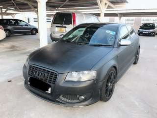 Audi S3 2.0(M) Singapore Car 🇸🇬 RM 20k Only!