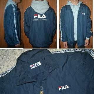Vintage fila embroidered jacket