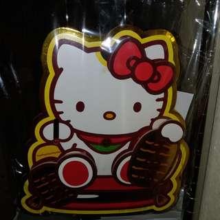 正版座枱KITTY招財貓