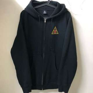 商品:OBEY x HUF hooded jacket