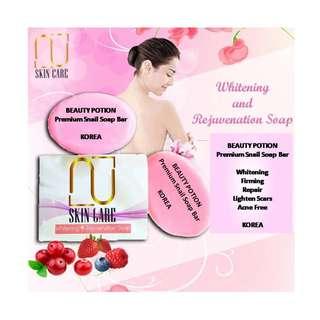BeautyPotionSkinCare Premium Snail Soap 100g