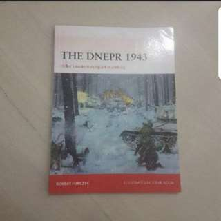 In Stock The Dnepr 1943 Hilter's Eastern Rampart Crumbles Robert Forczyk Osprey Publishing