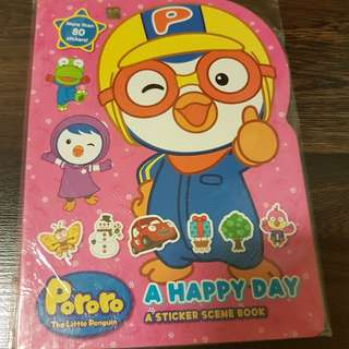pororo sticker book