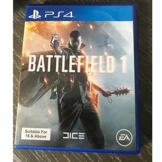 PS4 Battlefield 1 (pre-owned)