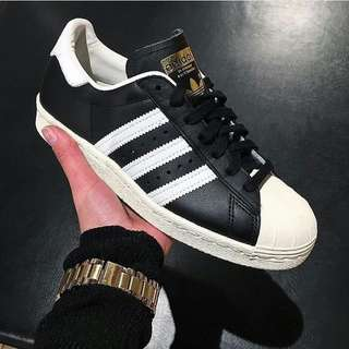 ADIDAS SUPERSTAR 80s CLASSIC LEATHER ORIGINAL