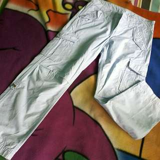50% OFF now PHP 200 only Herbench light blue baggy pants