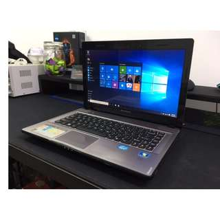 Lenovo i7 Quad Core High End Gaming Laptop + MS Office + 4GB Graphics