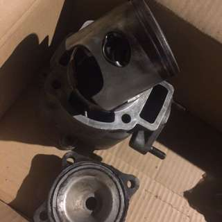 Gilera SP 180 block + piston + head set