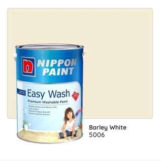 Nippon Paint Barley White 5L
