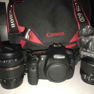 Canon 60D FULL PACKAGE 9.9/10
