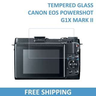 Canon Powershot G1 X Mark II Tempered Glass Screen Protector