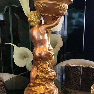 蠟燭台  20cm×49cm