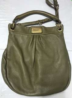 Marc Jacobs Olive Hillier Hobo Bag 橄欖綠