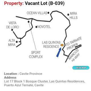 1.5k per month lots for sale at Cavite
