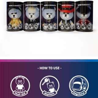 BIGBANG X KRUNK (Baebae Ver.) 全套5隻