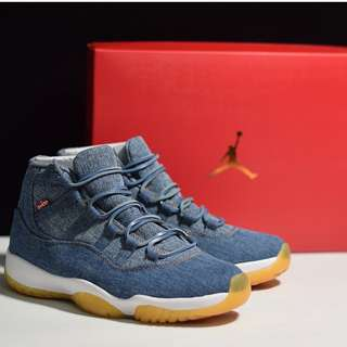 AJ11李維斯 牛仔 Levis x Air Jordan 11 914433-401 Size:40-47.5