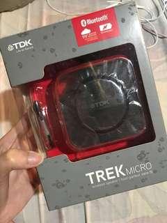 TDK trek micro bluetooth speaker