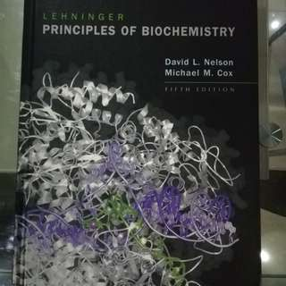 Lehninger Principles of Biochemistry 5th ed