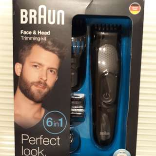 BRAUN Hair Trimmer Set
