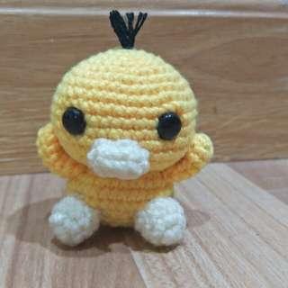 Handmade Pokemon Crochet - Psyduck